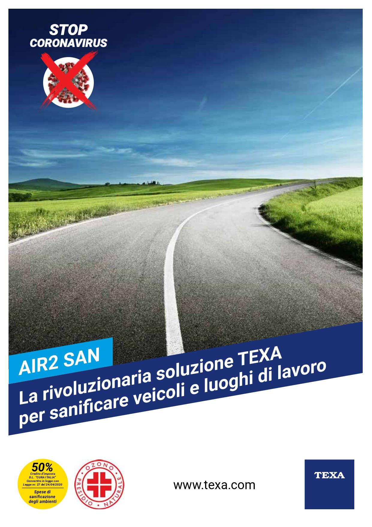 AIR2 SAN SANIFICAZIONE AMBIENTI